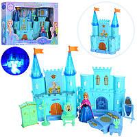 Замок SG-2993N (12шт) FR,для принцессы,23см,муз,свет,мебель,фигурка10см,бат(табл),в кор-ке,41-28-8см (Китай)