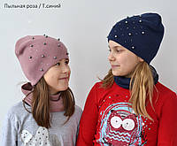 Весенняя подростковая шапка для девочки, фото 1