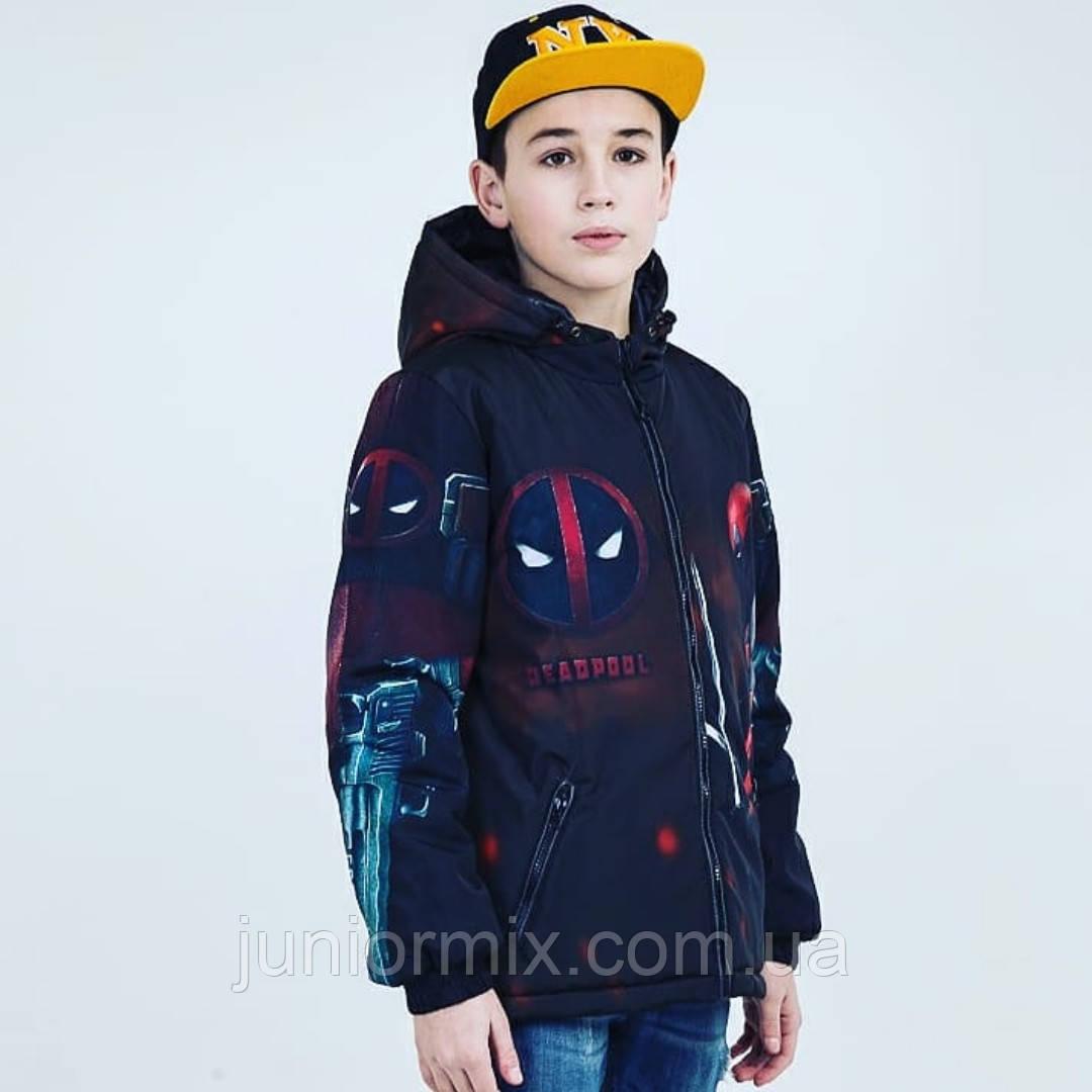 Подростковые весенние куртки для мальчика оптом