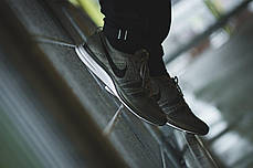 Мужские кроссовки Nike Flyknit Trainer Medium Olive/Black/White AH8396-200, Найк Флайнит, фото 3