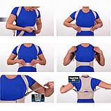 Магнітний корсет для спини Royal Posture (Ройэл Посчэ) - коректором постави, фото 3