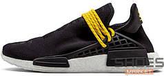 Мужские кроссовки Adidas NMD HU Pharrell Human Species Black BB3068, Адидас НМД, Адидас НМД