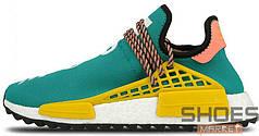 Мужские кроссовки Adidas Human Race NMD x Pharrell Williams Sun Glow AC7188, Адидас НМД, Адидас НМД