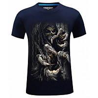 Мужчины хип-хоп Стиль хлопок T-рубашка 6XL