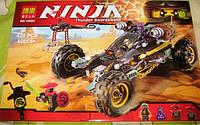 Конструктор Bela 10524 Ninja Ниндзя Ninjago Ниндзяго Земляной Внедорожник Коула 429 дет, фото 1