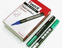 Маркер лак 2570 зеленый (12шт) Axent