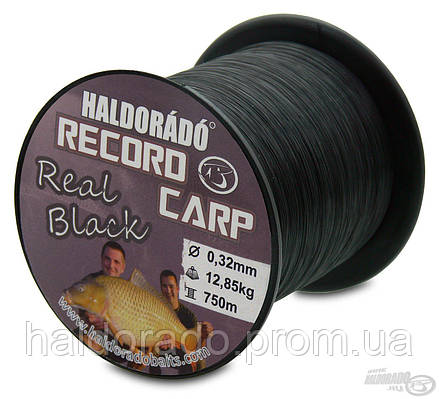 Леска 0,27 mm Record Carp  Real Black / 800 m - 9,75 kg