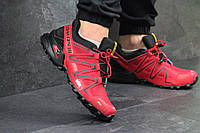Мужские кроссовки Solomon Speedcross 3 красные