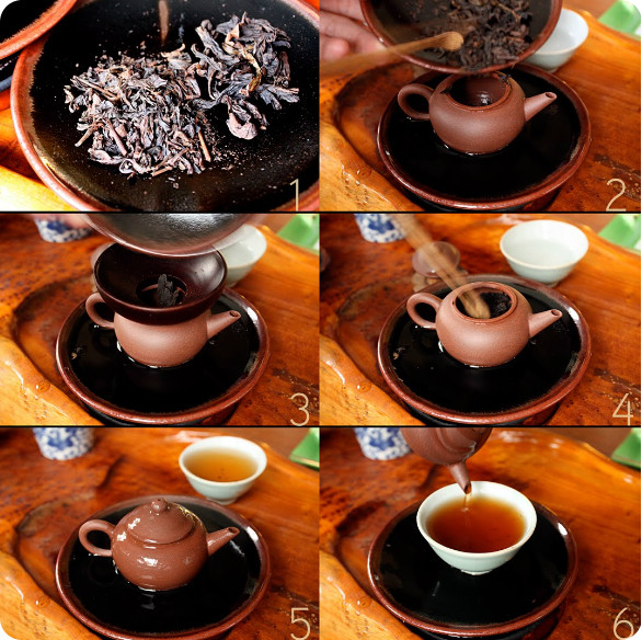 Как заварить чай Да Хун Пао