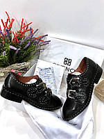 Стильные женские туфли оксфорды GIVENCHY  (реплика)