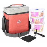 Naturehike Сверхлегкая сумка для кемпинга с термоизоляцией для пикника Цвет специи