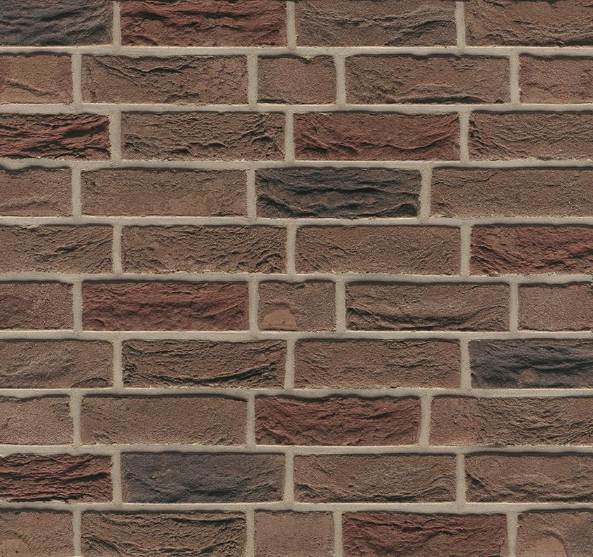 Кирпич ручной формовки WDF Nr.20 Ruhrtal mangan - Рурский марганцевый