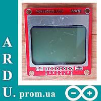 LCD Nokia 5110 для Arduino (дисплей 84x48) [#2-7], фото 1