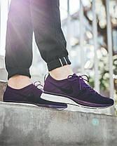 Женские кроссовки Nike Flyknit Trainer Night Purple/Black/White AH8396 500, Найк Флайнит, фото 2