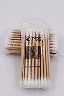Ватные палочки деревянные 50 шт.