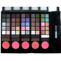 Набор для макияжа Набор теней тени 65 + румяна + контуры , фото 1