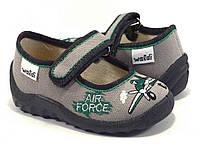 Детские  тапочки для мальчика WALDI ( р21-27)