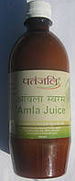 Сок амлы (Amla Juice), Patanjali,500 мл. 100% концентрат