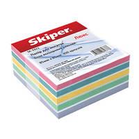 Блок бумаги для заметок цветной «Люкс» не кленный SK-3311