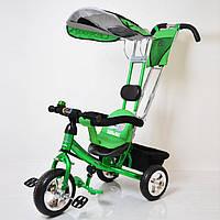 Велосипед трехколесный Lex-007 (10/8 EVA wheels) Green, фото 1