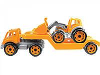 Автовоз с трактором, фото 1