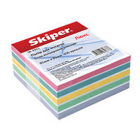 Блок бумаги для заметок цветной «Люкс» клееный SK-3312