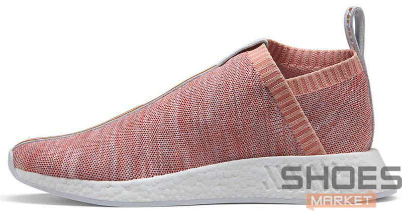 Женские кроссовки Adidas NMD CS2 Kith X Naked Pink BY2596, Адидас НМД