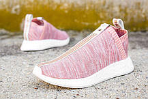 Женские кроссовки Adidas NMD CS2 Kith X Naked Pink BY2596, Адидас НМД, фото 3