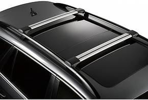 Багажник универсальный CROSSWING длинный чёрный, фото 2