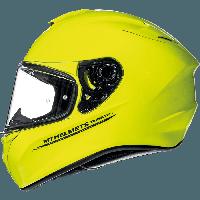 MT Targo Solid A3 Gloss Fluor Yellow, XS, Мотошлем интеграл, фото 1