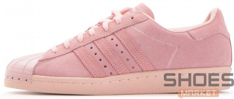 220015211357c Женские кроссовки Adidas Superstar 80s Metal Toe W Icey Pink -  Интернет-магазин обуви и