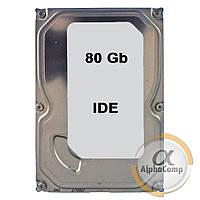 """Жесткий диск 3.5"""" 80Gb (IDE) б/у"""