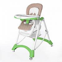 Детский стульчик для кормления CARRELLO Caramel CRL-9501/1 Light Green