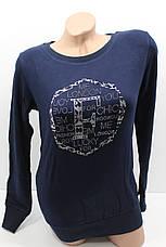 Женские свитера тонкий трикотаж оптом и в розницу H.W. 3001, фото 3