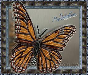 """Набор для вышивки бисером """"Бабочка Данаида Монарх"""""""