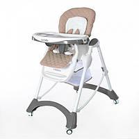 Детский стульчик для кормления CARRELLO Caramel CRL-9501/1 White