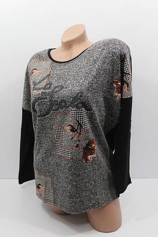 Женские свитера тонкий трикотаж оптом и в розницу H.W. 4537, фото 2