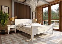 """Кровать деревянная """"Глория"""" с низким изножъем 90х200"""