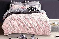 Комплект постельного белья сатин belle villa полуторный размер 0074