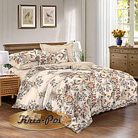 Семейный комплект постельного белья евро сатин