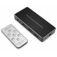 ANQ-переключатель 4031 HDMI кабель 3 х 1 Чёрный