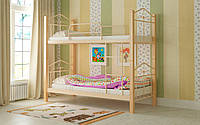 Двухъярусная кровать Тиара 90х200, металлическая двухъярусная кровать, выбор цвета Доставка 250грн