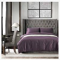 Комплект постельного белья сатин bella villa евро размер 0042
