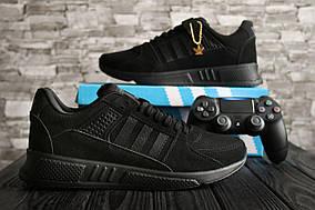 Мужские кроссовки Adidas Equipment Adv 91-16 (Black)