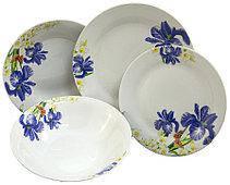 Тарелки фарфоровые декольные