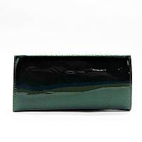 Шикарный лаковый кошелек зеленого цвета GGW-012930, фото 1