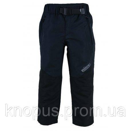 Детские  штаны непромокаемые на флисовой подкладке,  темно-серые, PIDILIDI, размер 98