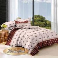 Комплект прекрасного постельного белья евро из сатина