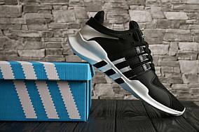 Мужские кроссовки Adidas Equipment Adv 91  (Black and White)