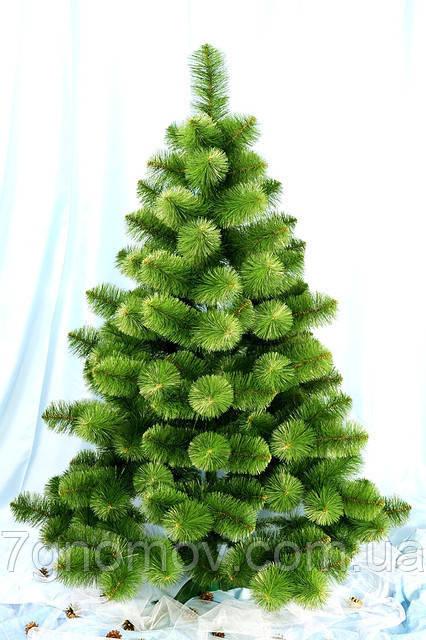 Сосна искусственная зеленая 1.4 метра Бьюти
